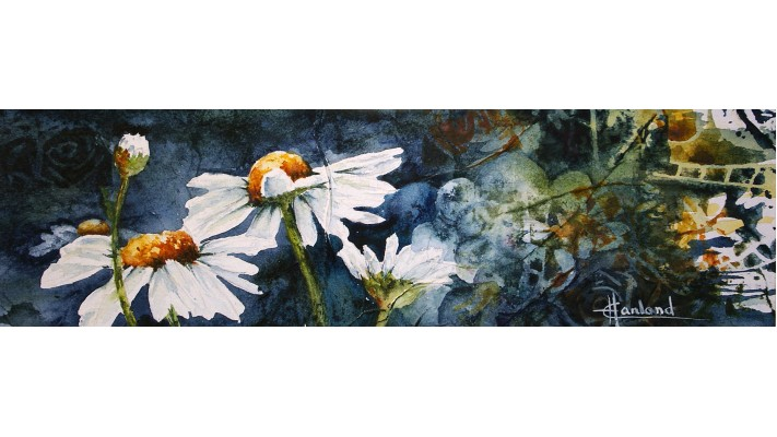 Foulard soie - Marguerites 9a21b9f7c05