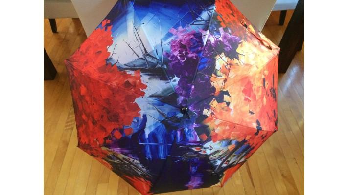 Parapluie - Mémoire de draveur