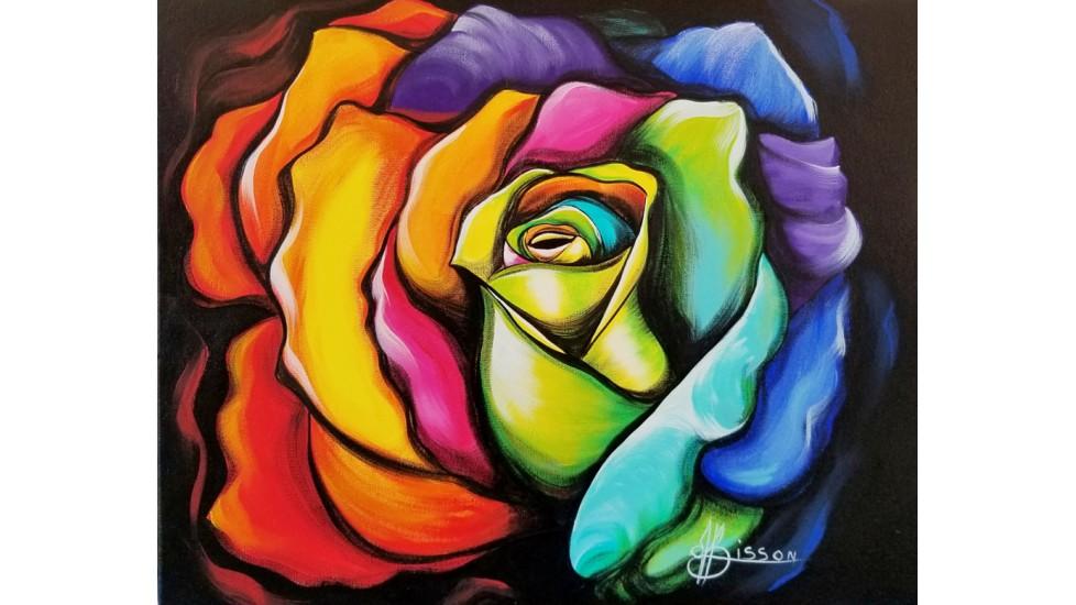 Napperons - Rose Espoir